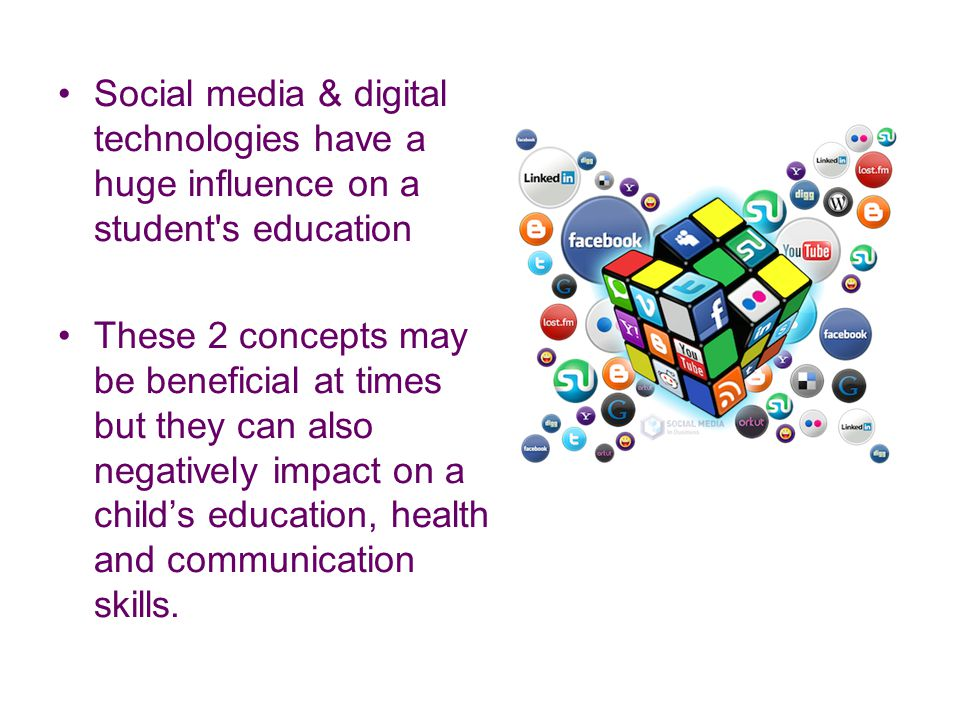the influence of media on students