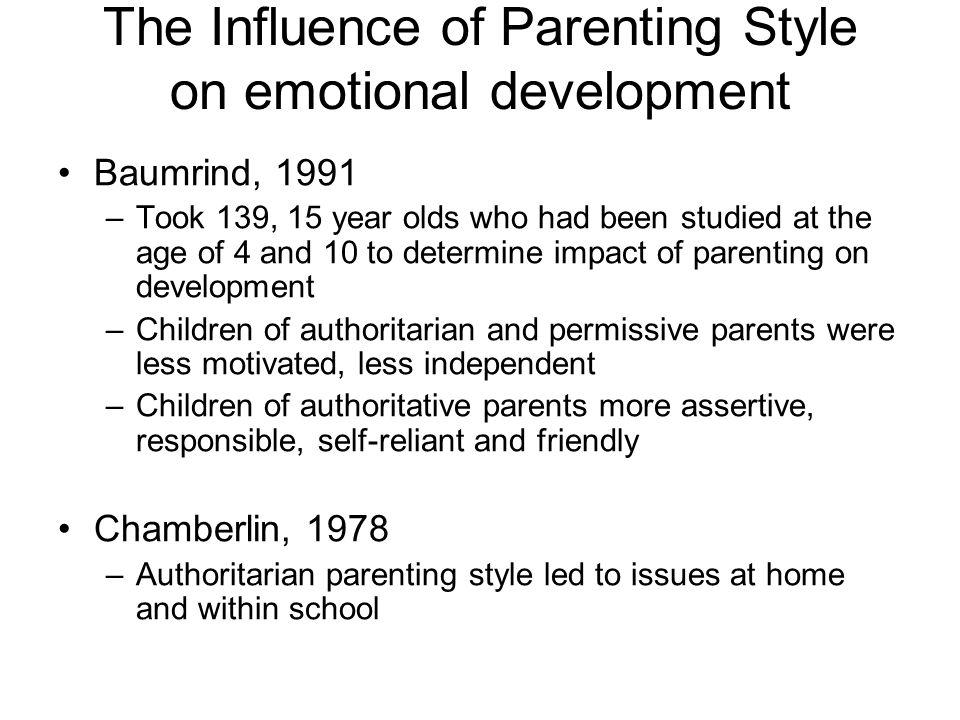 authoritative vs authoritarian parenting