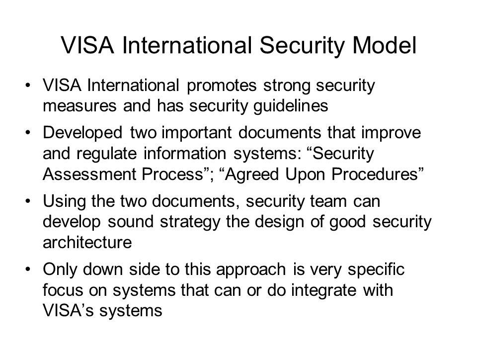 Information security blueprint ppt download visa international security model malvernweather Image collections