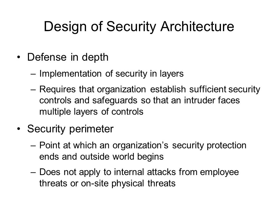 Information security blueprint ppt download design of security architecture malvernweather Image collections