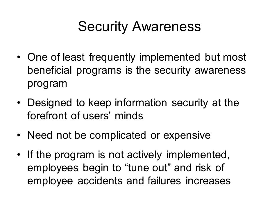 Information security blueprint ppt download 28 security awareness malvernweather Image collections