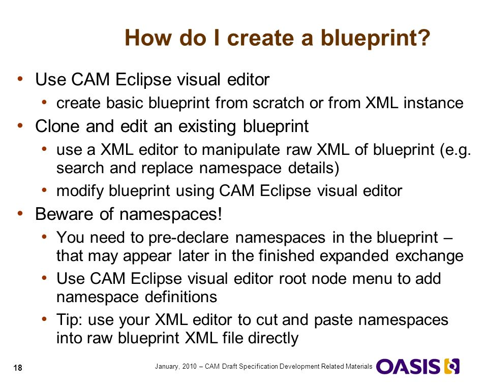 Quick guide to cam blueprints ppt video online download how do i create a blueprint malvernweather Image collections