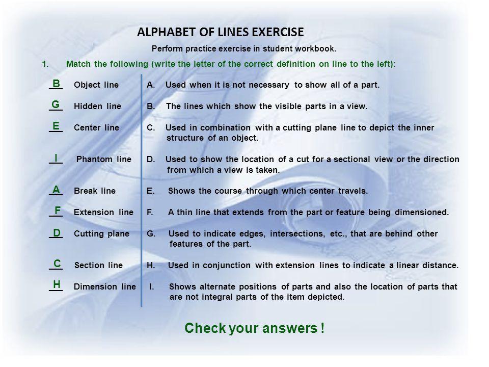 Alphabet Of Lines Schematics - Data Wiring Diagrams •