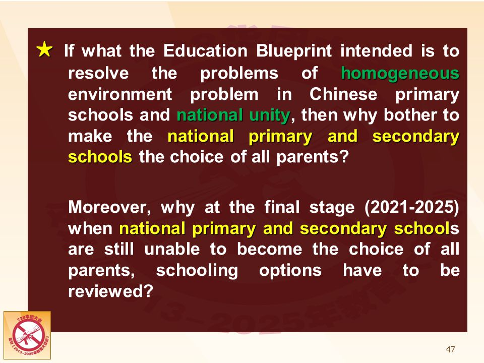 Preliminary report on chinese education ppt download if what the education blueprint intended is to resolve the problems of homogeneous environment problem malvernweather Gallery