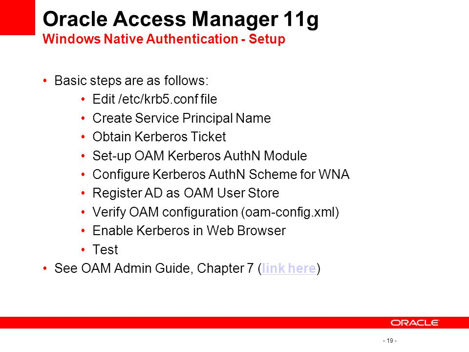 Oracle Single Sign-On to Oracle Access Manager Migration Rob Otto