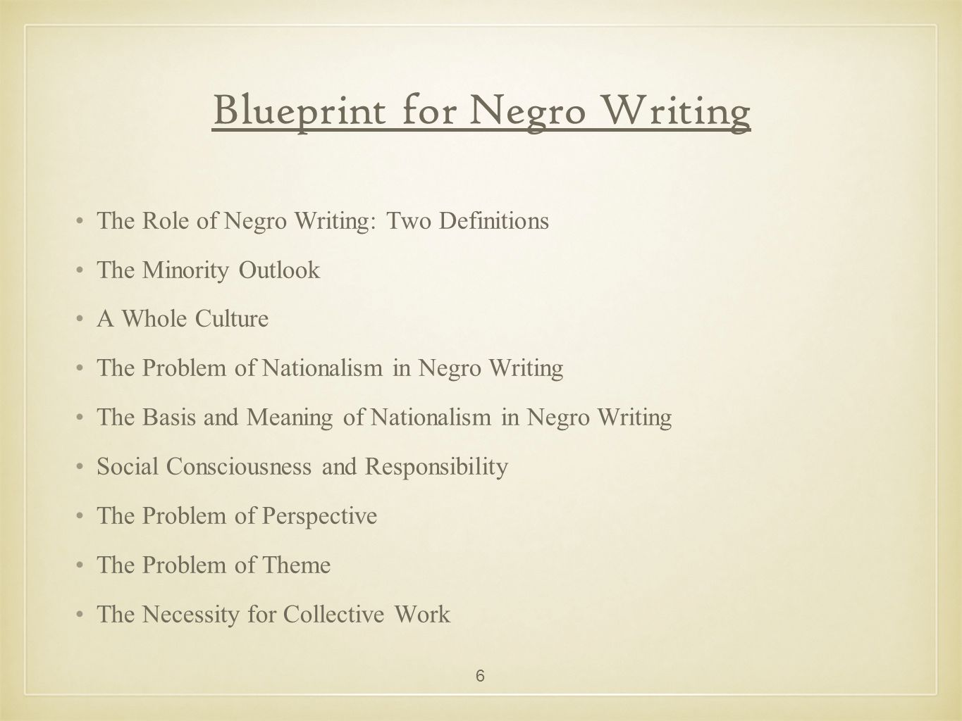 Blueprint for negro writing ppt video online download blueprint for negro writing malvernweather Image collections