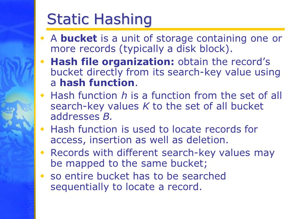 B+-tree and hash indexes ppt video online download.