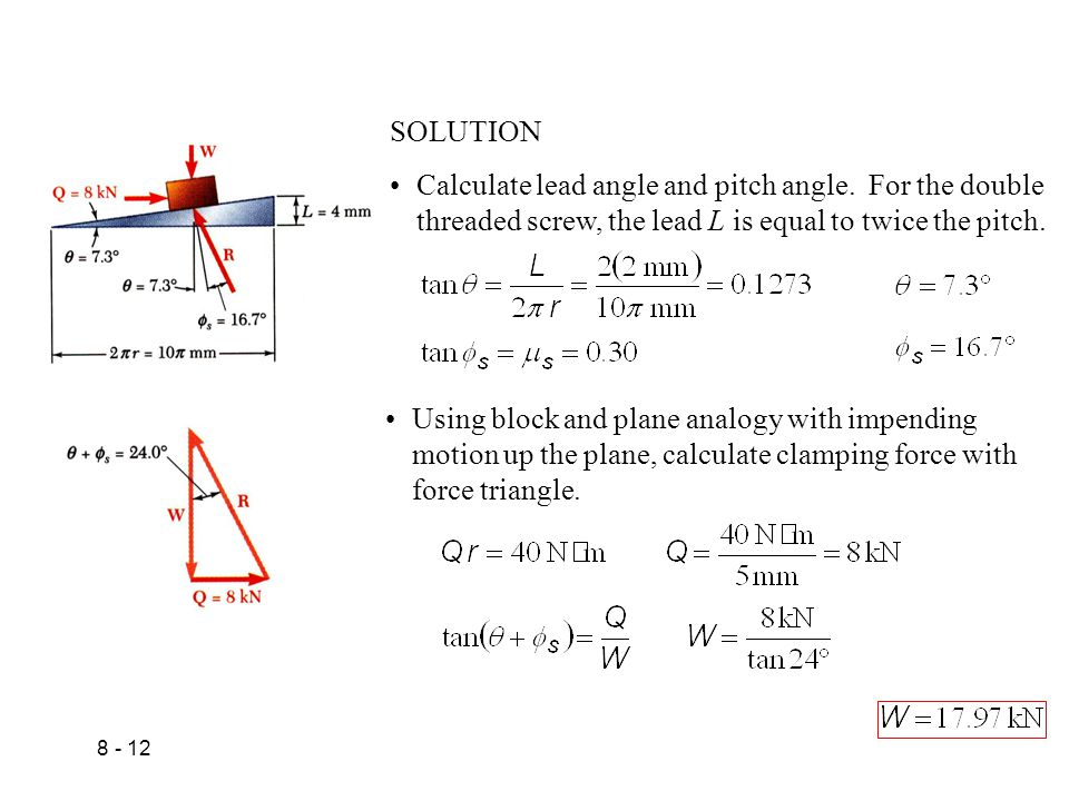 WEDGES AND FRICTIONAL FORCES ON FLAT BELTS - ppt video
