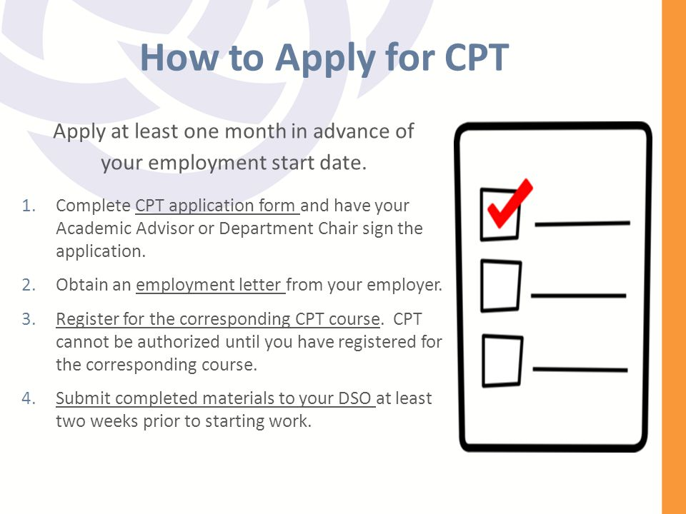 Employment Options Procedures For Students In F 1 Status Ppt