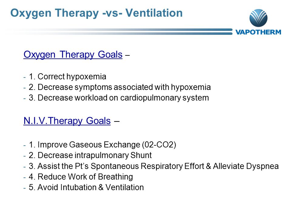 3 Oxygen Therapy ...