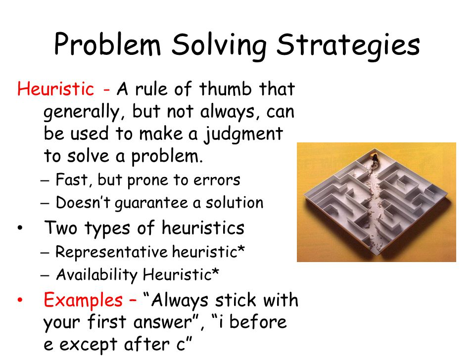 problem solving strategies questions and answers Showcase your competence in problem solving focus on the facts instead of blaming the other person, kelley says rather than saying, jim was such a slacker, simply explain the situation and what steps you took to solve the problem—on at least three occasions, jim missed deadlines that pushed back our production schedule.