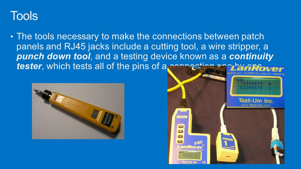 Understanding Wired And Wireless Networks Ppt Download Circuit Diagram Of Continuity Tester 12 Tools