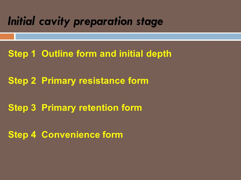 Fundamentals in Tooth Preparation - ppt video online download