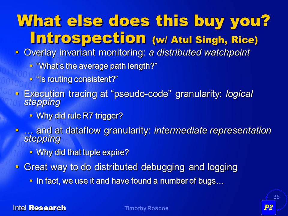What else does this buy you Introspection (w/ Atul Singh, Rice)