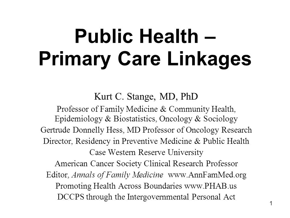 Public health primary care linkages ppt download public health primary care linkages toneelgroepblik Choice Image