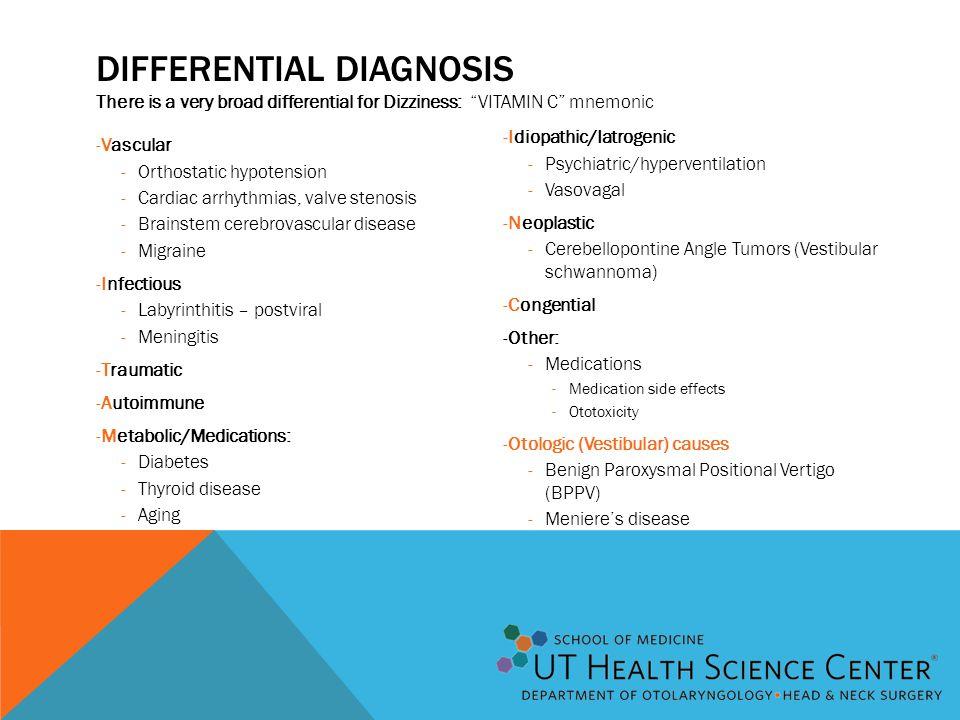 The Dizzy Patient Otologic Evaluation Ppt Video Online Download