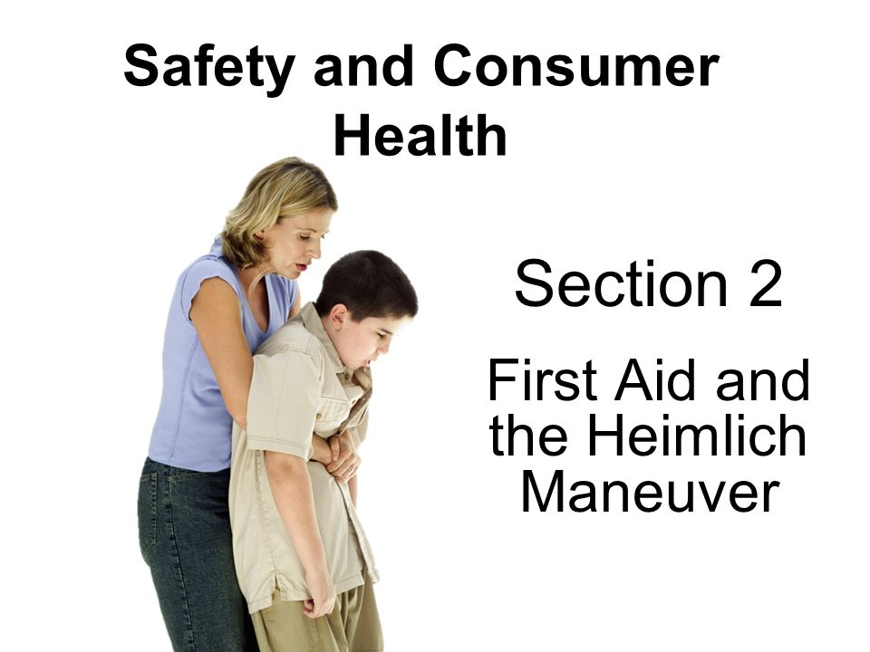 Safety and Consumer Health