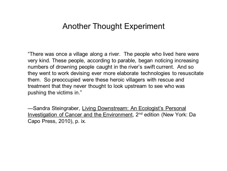 living downstream sandra steingraber chapter summary