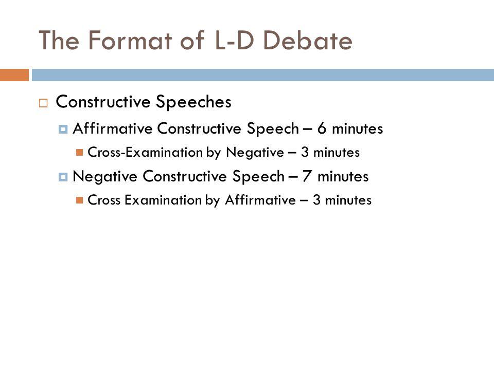 Lincoln douglas debate intro.