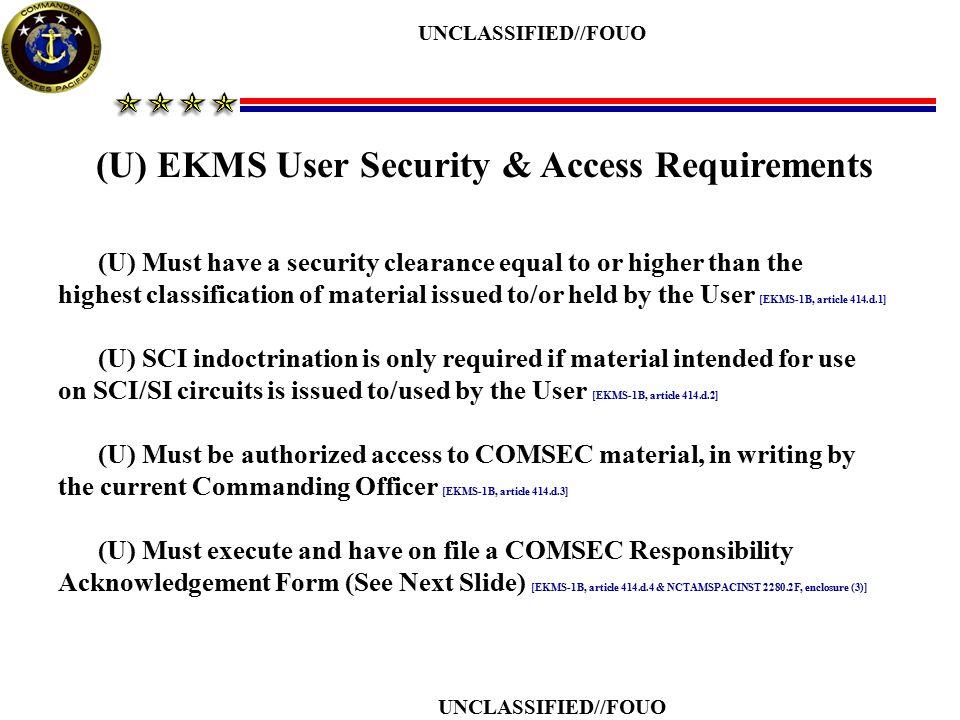 u ncts guam ekms local element training ppt download rh slideplayer com Ekms 1B PQS LIC Ekm Xmas