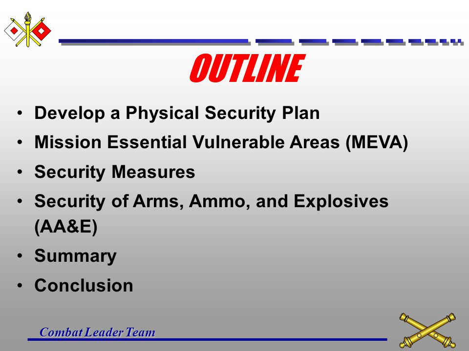 UNIT PHYSICAL SECURITY PLAN - ppt video online download