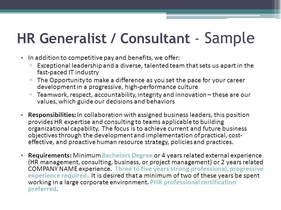 Human Resources Management Career Workshop - ppt video online download