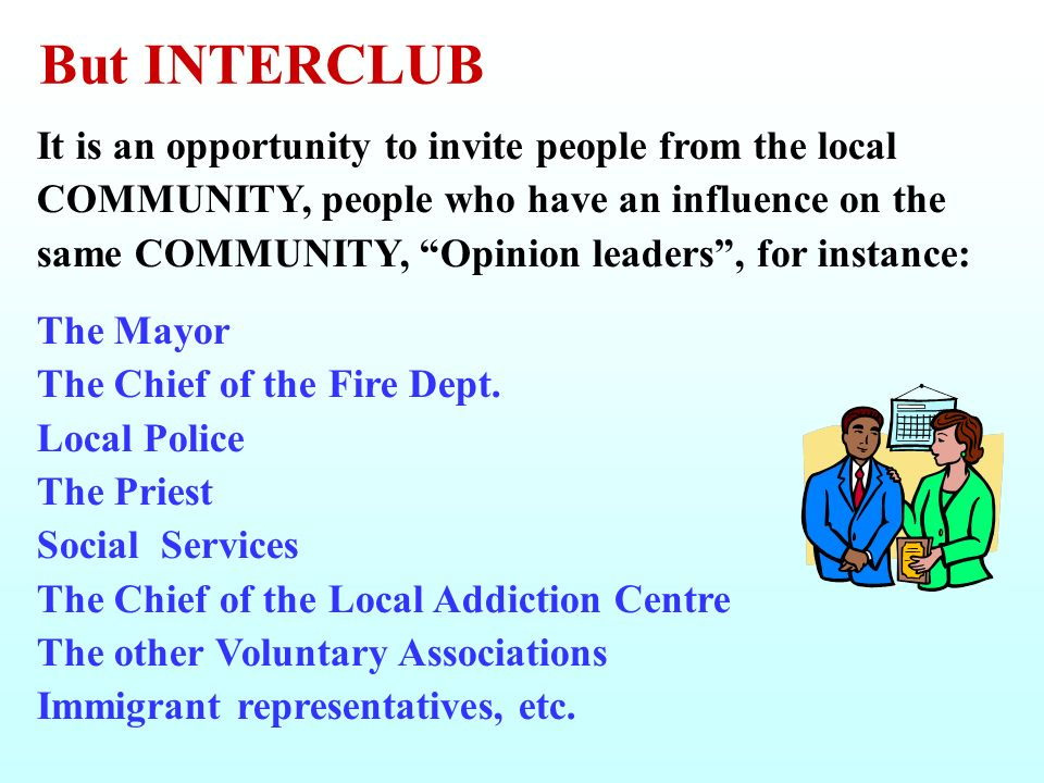 But INTERCLUB