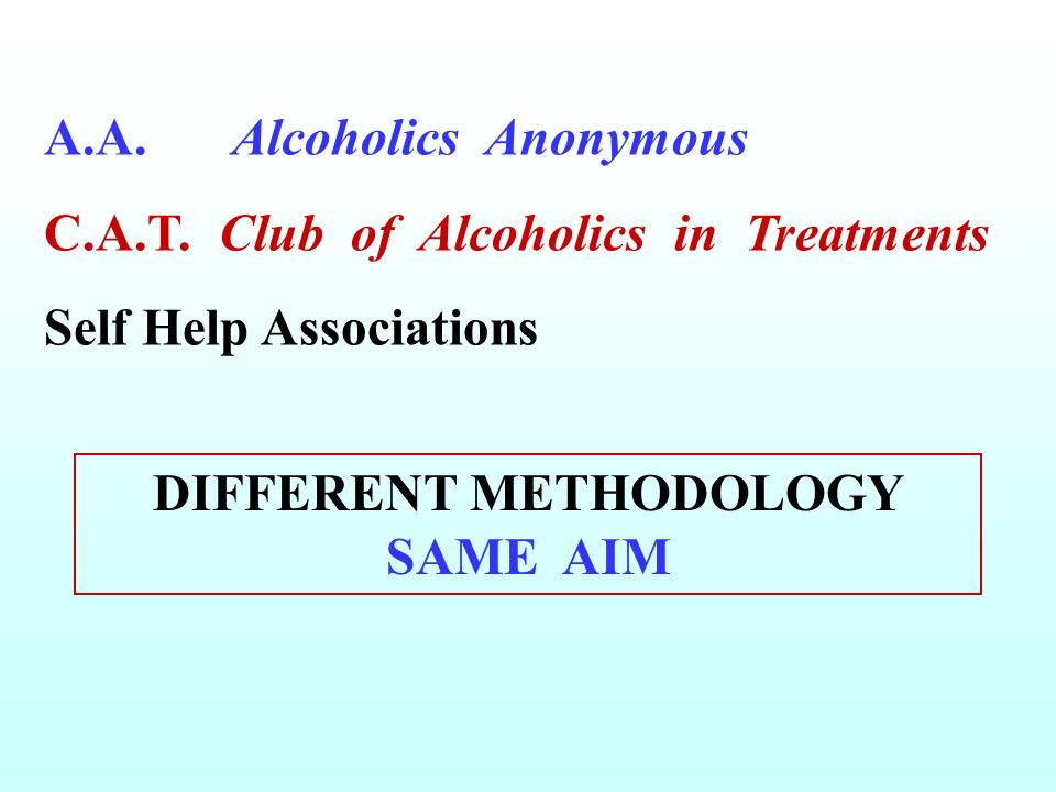 DIFFERENT METHODOLOGY SAME AIM