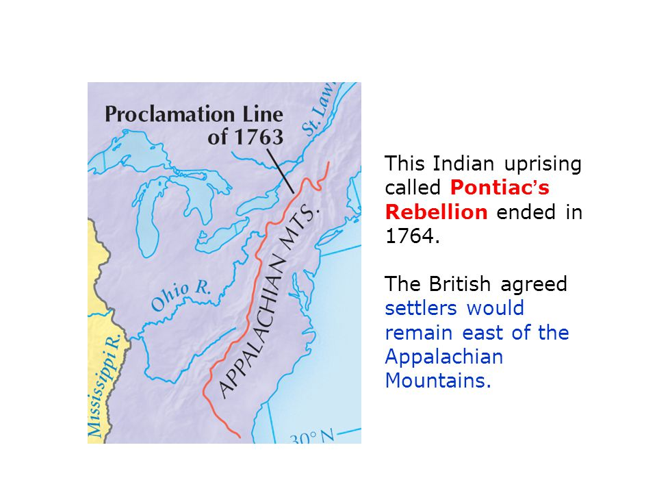 This Indian uprising called Pontiac's Rebellion ended in 1764