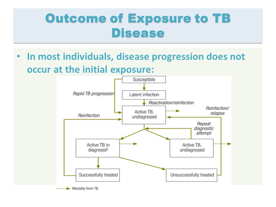 Outcome of Exposure to TB Disease
