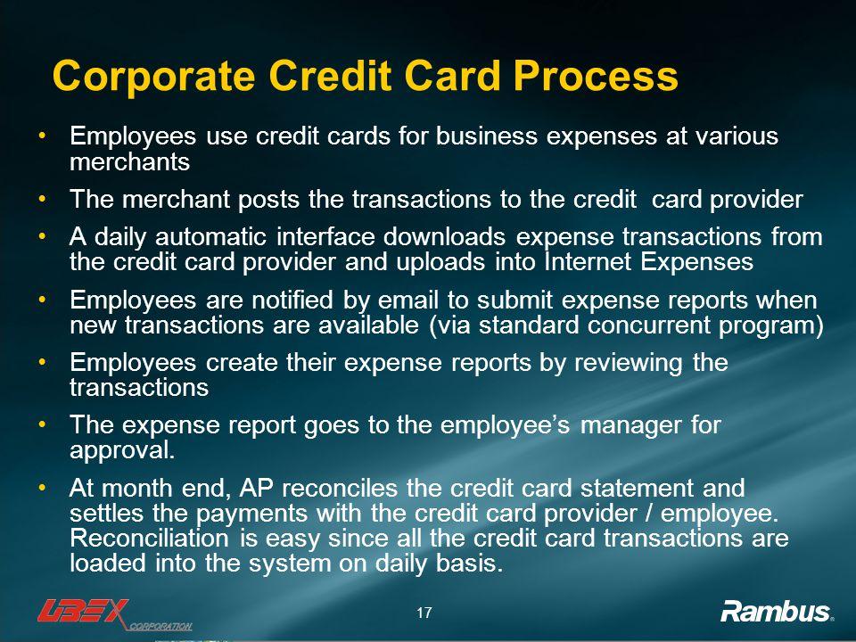 Venkat natarajan sr applications manager rambus inc ppt video corporate credit card process reheart Image collections