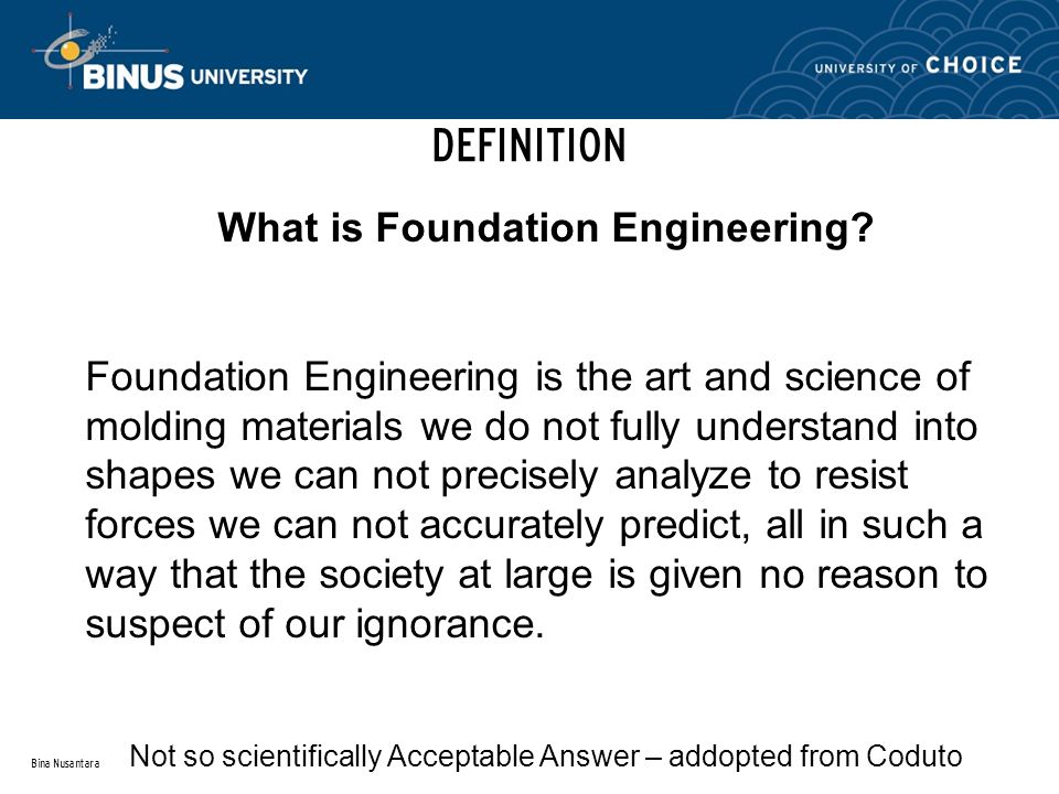 What is Foundation Engineering