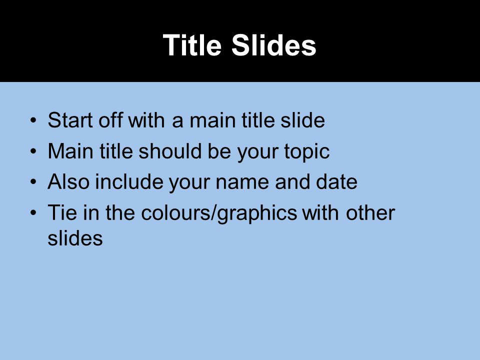 Tips for an effective powerpoint presentation ppt video online 2 title ccuart Image collections