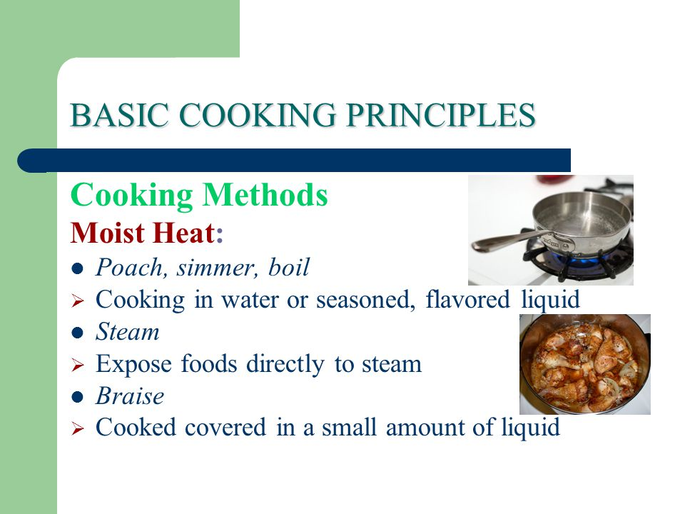 Basic cooking principles ppt video online download basic cooking principles thecheapjerseys Choice Image