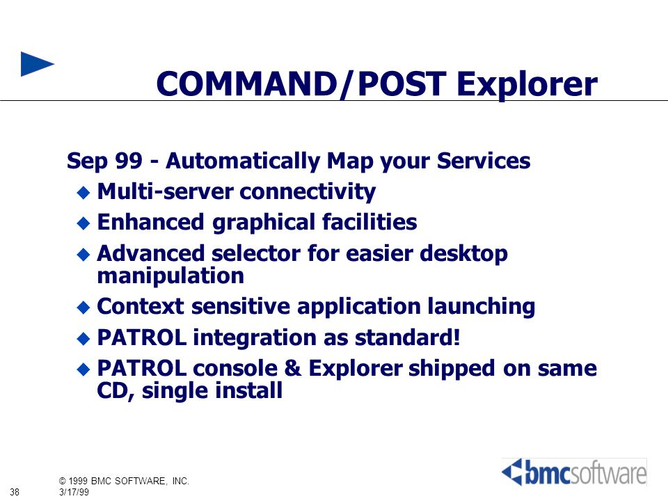 COMMAND/POST Explorer