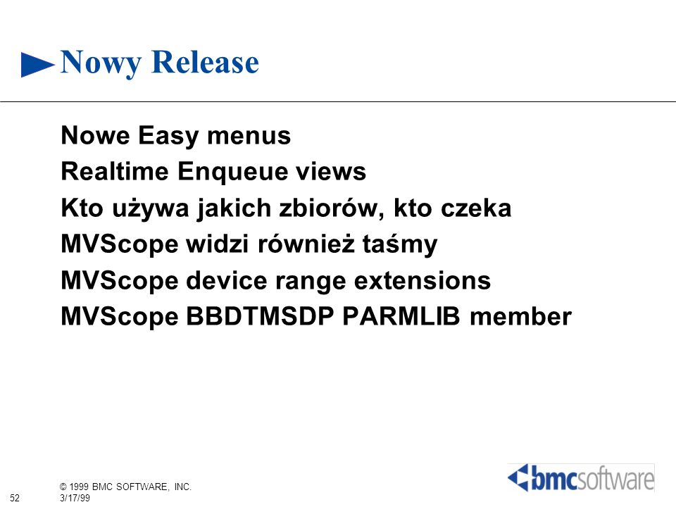 Nowy Release Nowe Easy menus Realtime Enqueue views