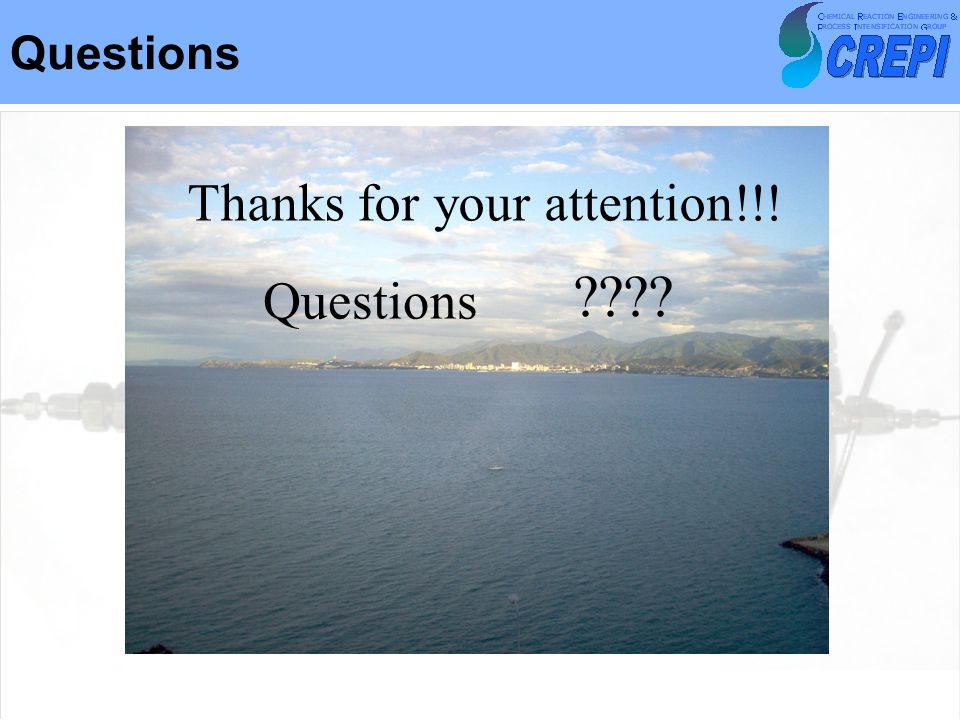 Questions Thanks for your attention!!! Questions
