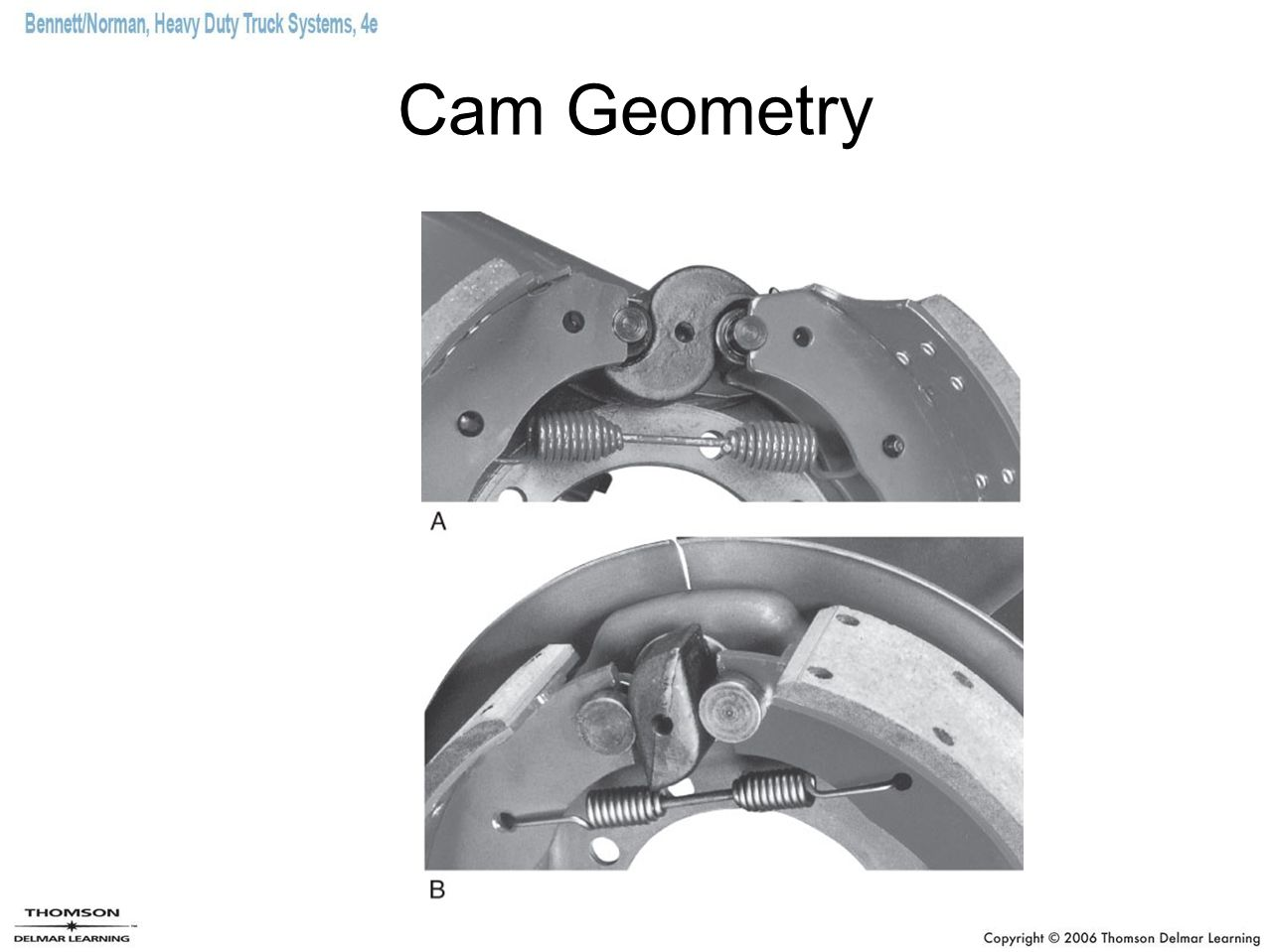 Chapter 28 Truck Brake Systems Ppt Video Online Download Caption Diagram Of The Basic Front Disc Setup Arotor B 30 Cam Geometry