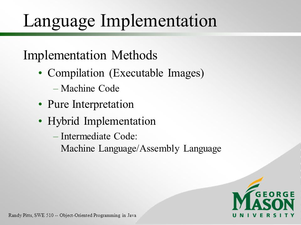 Language Implementation