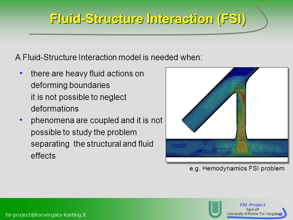 Modelling FSI problems in ANSYS Fluent via UDF - ppt video
