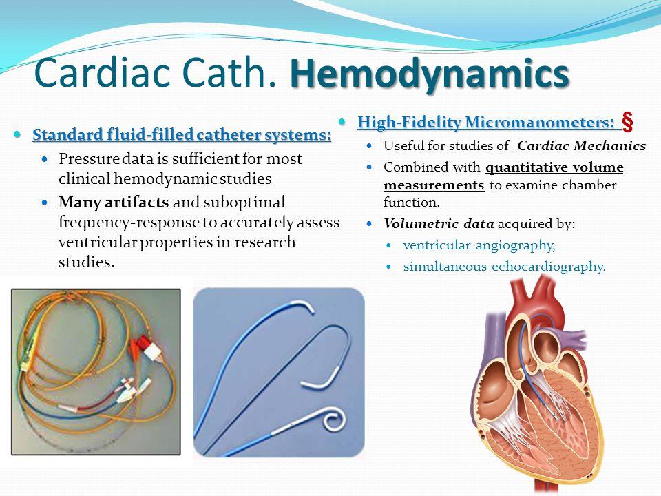 Cardiac Catheterization Hemodynamics - ppt video online download