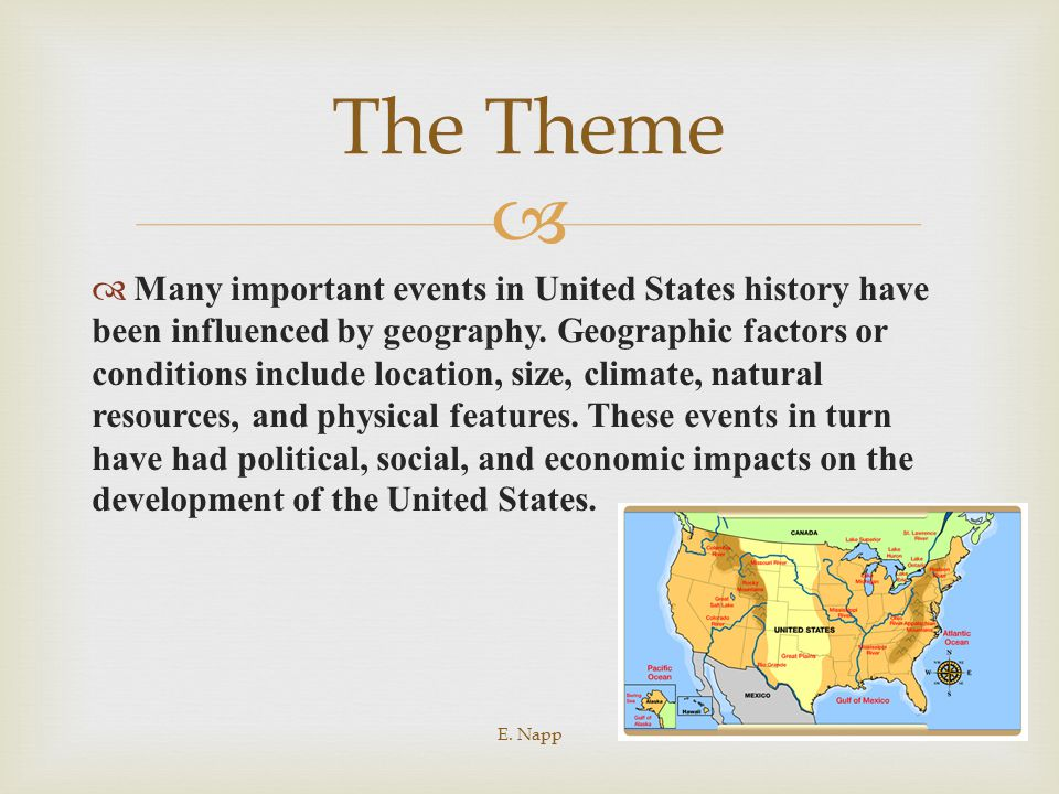 Thematic Essay Practice: The Impact of Geography - ppt download