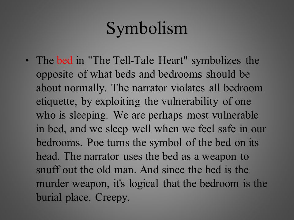 Symbols In The Tell Tale Heart Gallery Meaning Of This Symbol
