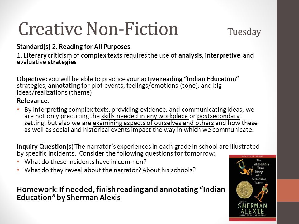 indian education sherman alexie sparknotes