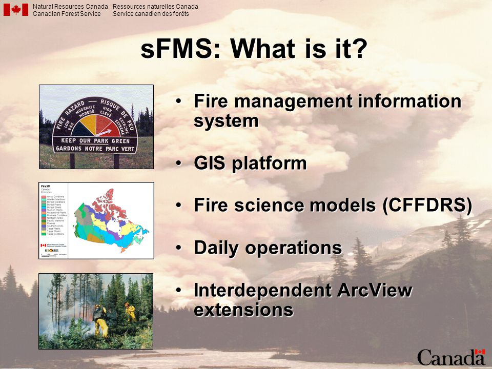 sFMS: What is it Fire management information system GIS platform
