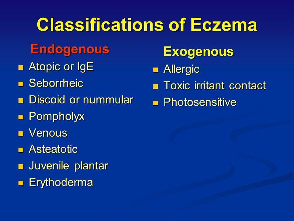eczema endogeno