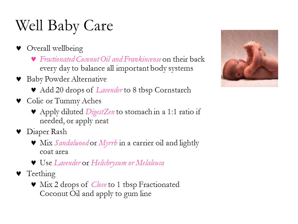 Well Baby Care Overall wellbeing