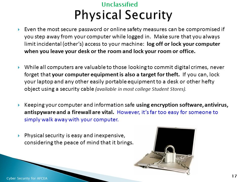 Cyber Security For Afcea Ppt Download