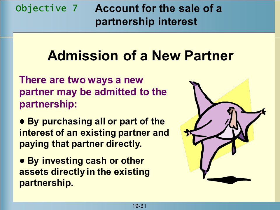 Admission of a New Partner