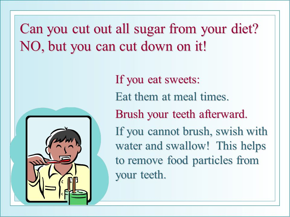 Can you cut out all sugar from your diet